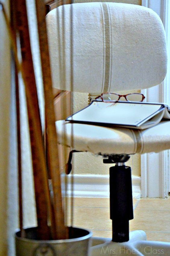 Desk Chair Makeover Inspired By Ballard Designs Chairs