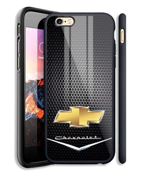 Chevrolet Gold Emblem Logo Fit Hard Case For iPhone 6 6s Plus 7 8 ...