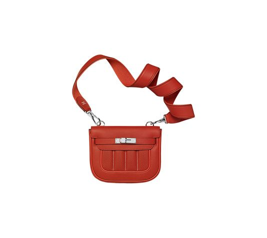 high quality hermes replica - Herm��s Berline Hermes bag in brick red swift calfskin with blood ...