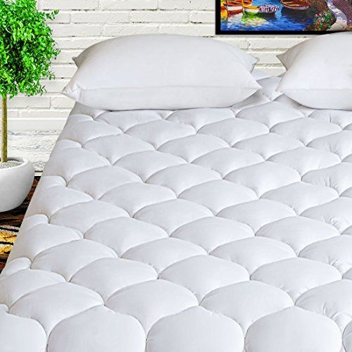 Harny Mattress Pad Cover Queen Size Summer Cooling Breathable