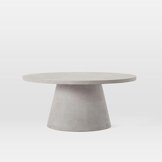Pedestal Outdoor Coffee Table Pedestal Coffee Table Drum Coffee