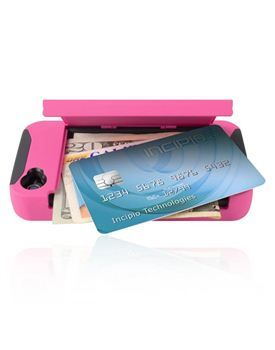 Incipio iPhone 4 4S Stowaway Credit Card Hard Shell Case with Silicone Core, iPhone 4 4S Cases & Covers by Incipio