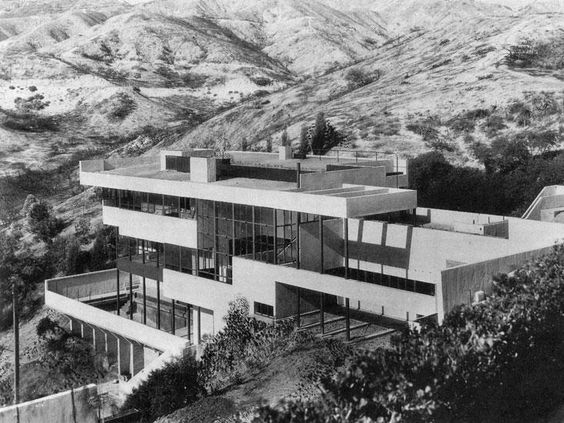 Lovell Health House, Los Angeles CA (1927-29) | Richard Neutra