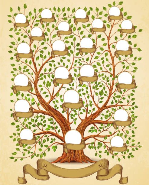 Free Family Tree Clipart : family, clipart, Royalty, Family, Image, More., Printable,