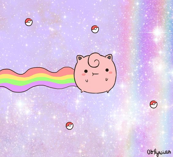 Nyan Jigglypuff...ingenious! @Kat smith Zomg... if I get a nyan jiggly anything I think I'd die