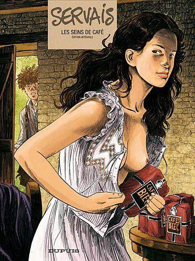 JEAN-CLAUDE SERVAIS - Les Seins de café L'intégrale - Graphic novels - BOOKS - Renaud-Bray