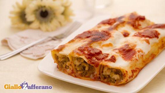 Cannelloni recipe. Italian food