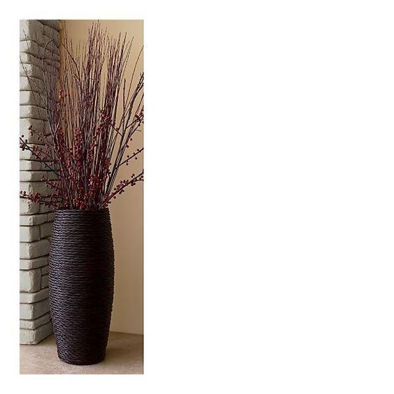 30 Quot Floor Vase Floor Vase Buy Vase Decorative Floor Vases Outdoor Rattan Vase For The