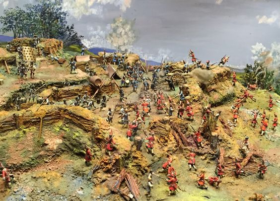 Storming the Schellenberg 1704 Diorama - The League of Augsburg