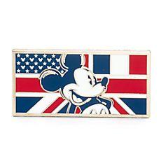 Rintanappeja kolme lippua Mikki Hiiri Disneyland Paris