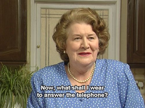 keeping up appearances christmas special youtube garbage