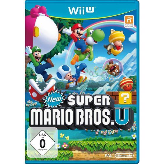 New Super Mario Bros. U: Nintendo: Amazon.de: Games