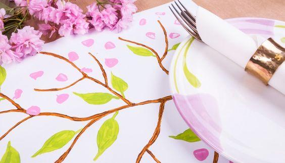 Kirschblütenzeit #cherryblossom #table #decoration #onthetable #diy #flowers