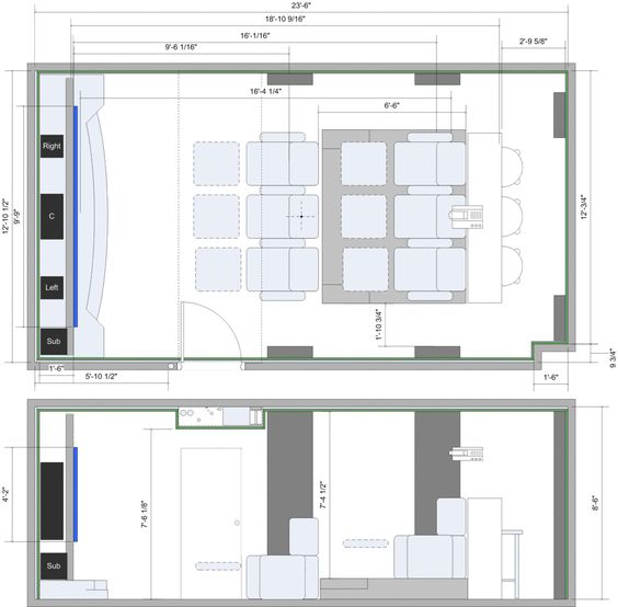 home theatre design layout. home theatre plans free  Google Search wish list Pinterest search and Free