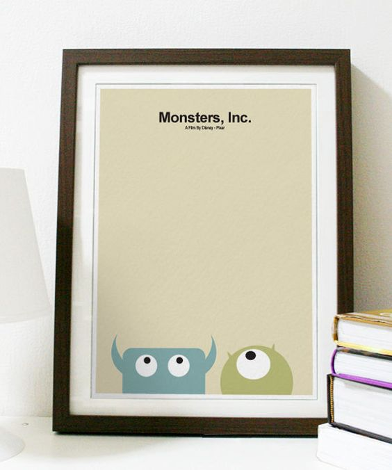 Hey, I found this really awesome Etsy listing at https://www.etsy.com/listing/76816893/monsters-inc-a3-poster