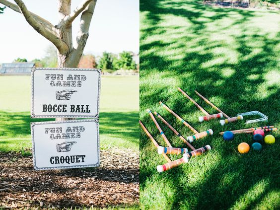 game themed reception - christine barlow photography