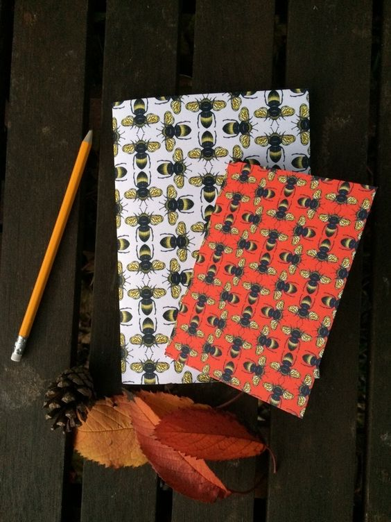 Designed by Nicki Bradwell in her studio in Scotland, these sweet bee notebooks would make a lovely gift for flora and fauna lovers alike.
