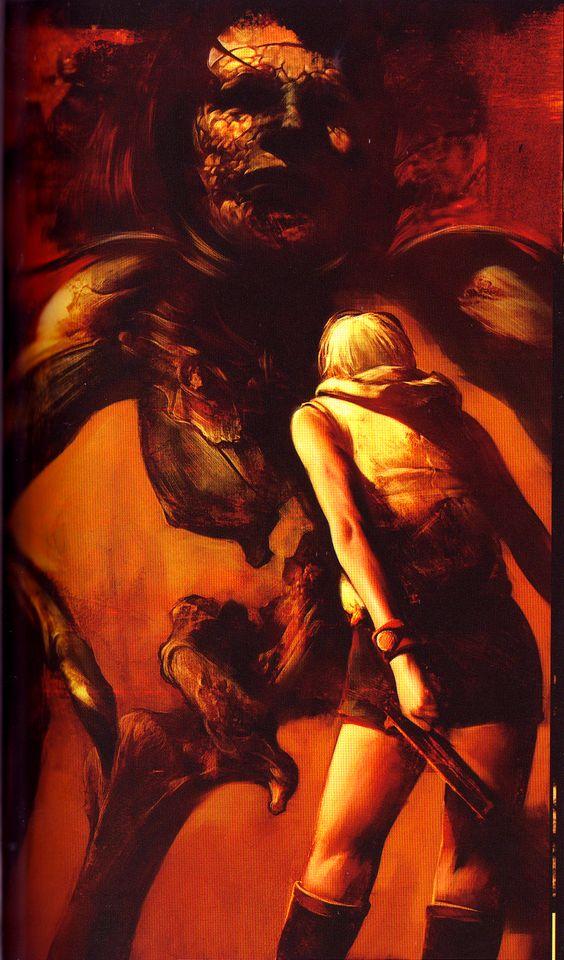 God vs Heather|Final boss|SH3