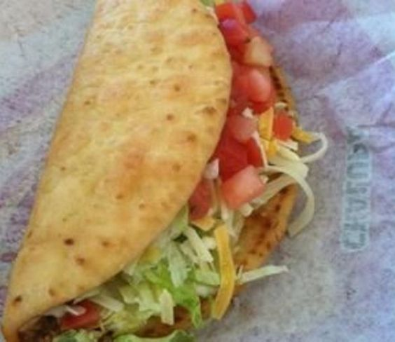 My Boyfriend`s FAVORITE food from Taco Bell has to be their chalupas. The shells are light and fluffy with a slight crisp to the outside. Besides the filling,