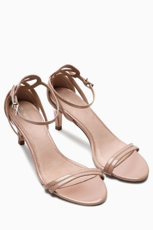 Buy Kitten Heel Sandals from the Next UK online shop | I'm diggin ...