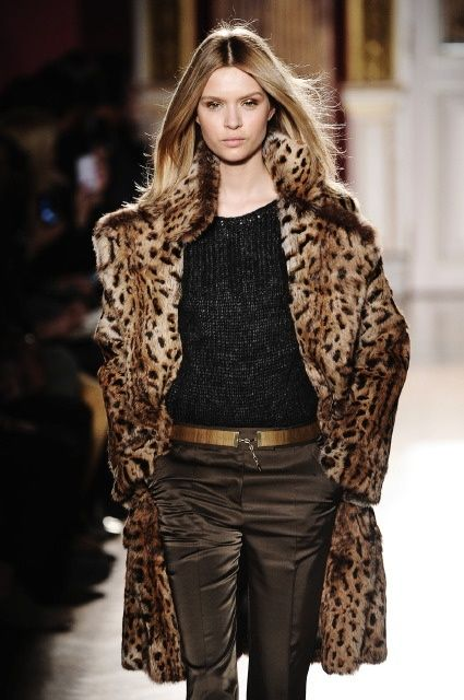 Just bought this leopard coat - love it! ;)