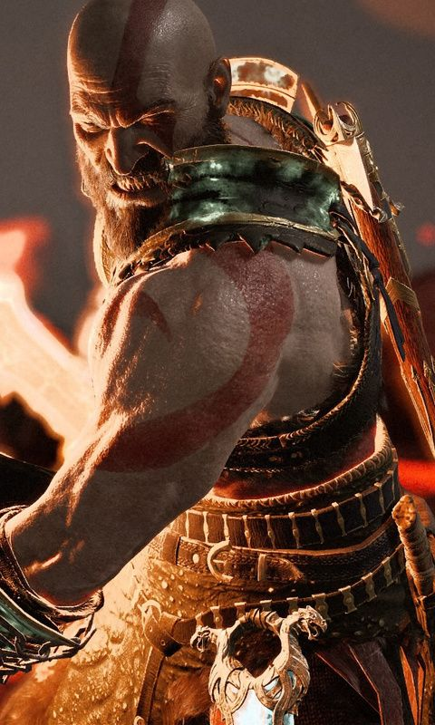 Kratos God Of War 4 Game Wallpaper For Iphone And 4k Gaming Wallpapers For Laptop Download Now For Free Hd Games Psgames G Kratos God Of War God Of War War