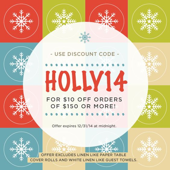 Our holiday discount code is valid until 12/31/14! Check it out: https://www.mypapershop.com/