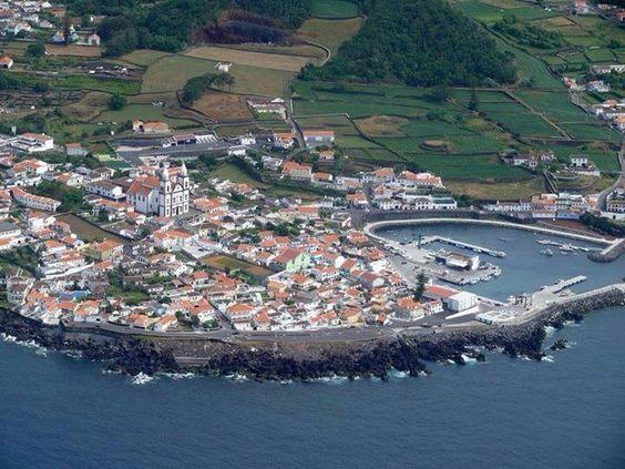 Baia de São Mateus - Terceira (vista aérea)