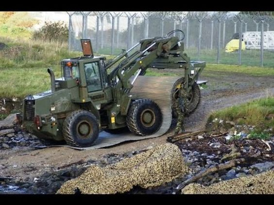 Military Engineering Machinery: Road Building