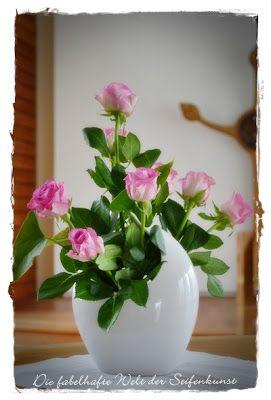Die fabelhafte Welt der Seifenkunst: Blumen und Gestecke