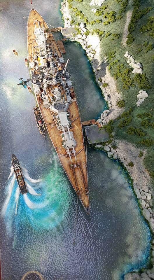 Tirpitz by Pinnacle Scale Models.