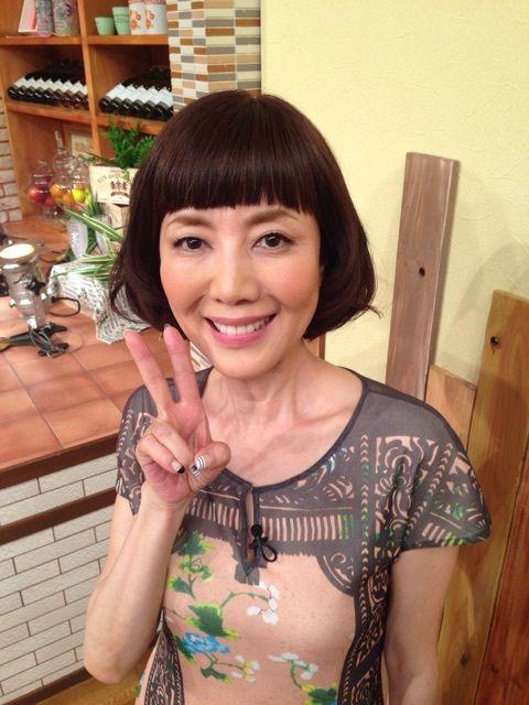 ボブヘアが可愛い戸田恵子