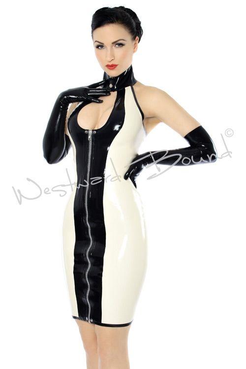 Elegant Latex Dresses