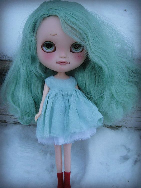 OOAK Custom ICY Doll Julep BlytheLike Big Eyed by cindysowers, $385.00