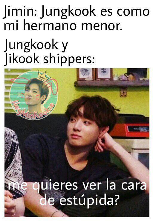 Jikook Memes 7u7 Memes Bts Memes Caras Memes Coreanos