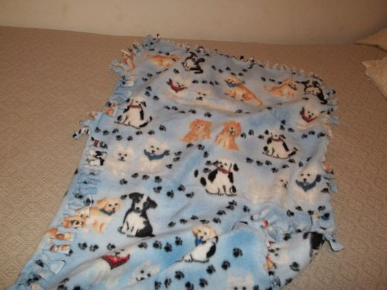 Cute throw for our little boy!