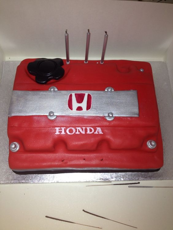 Best Images About Xaviers On Pinterest Birthday Cakes Search - Car engine birthday cake