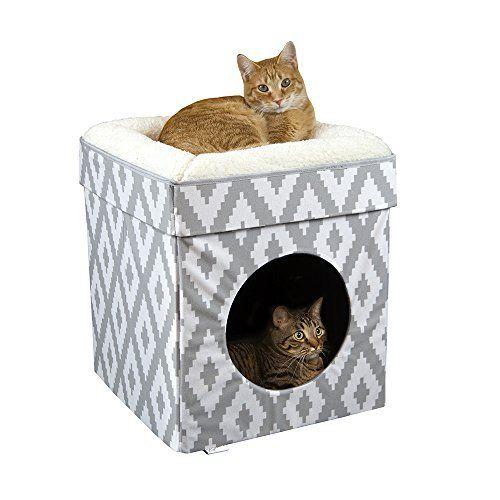Kitty City Large Cat Bed Cat Cube Cat House Cat Condo Best Petsep Com Cat Cube Cat Bed Indoor Cat