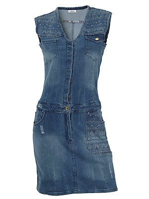 Robe en jean: