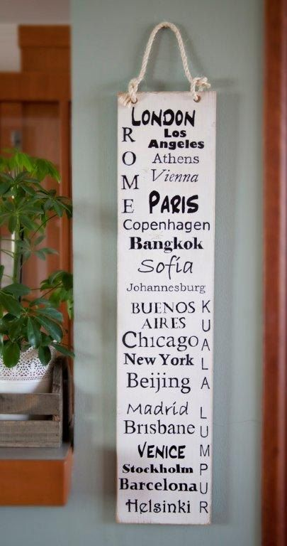 Cities of the World by DazzlingWordArt on Etsy