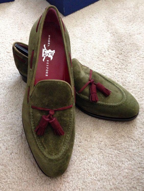 Angel bespoke, Bespoke and Tassel loafers on Pinterest