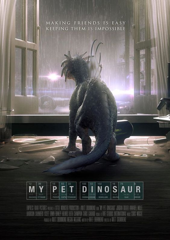 My Pet Dinosaur (2017) WEB-DL