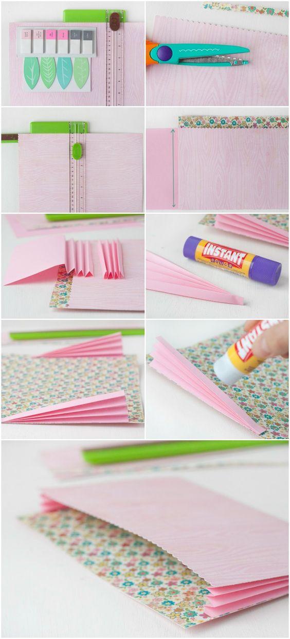 Azucarillos de Colores: Tutorial DIY: bolsillo scrap de almacenaje