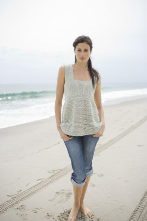 Free Crochet Pattern: Sea Breeze Top