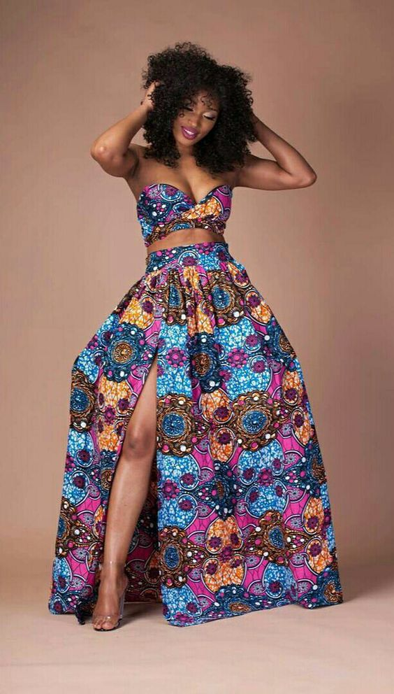 Wonderful Weddings Stunning Prom Dresses African Prints Dresses Prom Kitenge