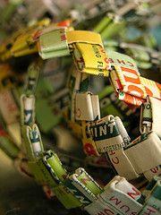 Gum Wrapper Chain.