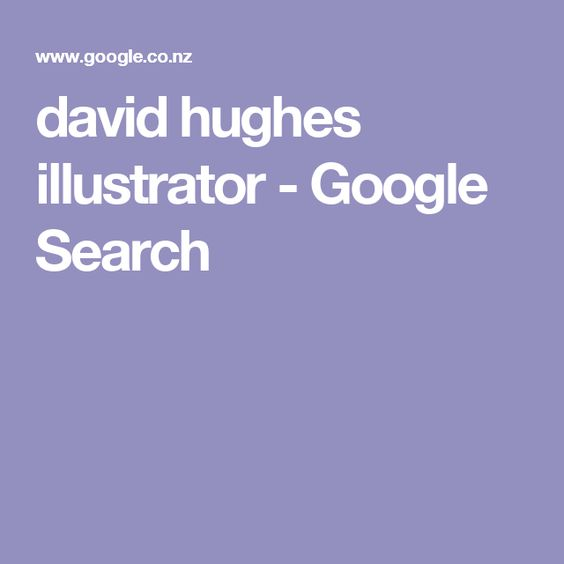 david hughes illustrator - Google Search