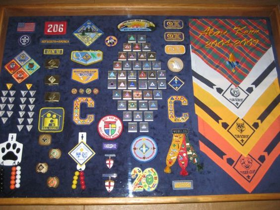 More Cub Scouts Shadow boxes