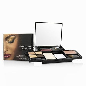 Make Up Kit - Gilded In Gold: (4x Shadows, 1x Highlighter, 1x Blush, 1x Eye Liner, 1x Lip Color) - -
