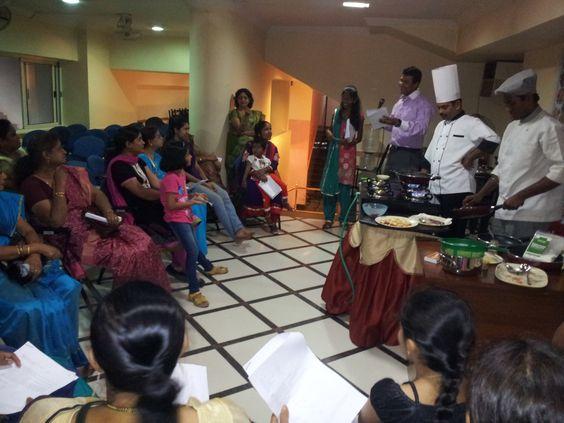 Prestige Bandhan, a multi-cuisine cookery show - held at Prestige Smart Kitchen store, Mahalakshmi Layout, Bangalore.